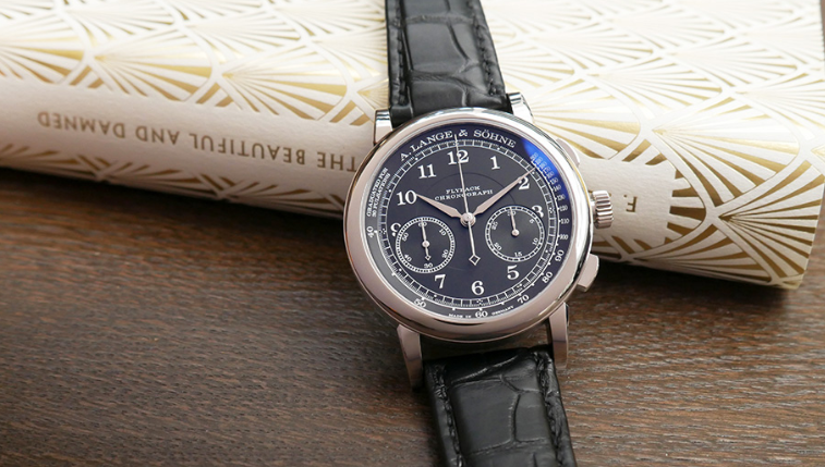 The A. Lange & Sohne Replica Watch with Grey Dial