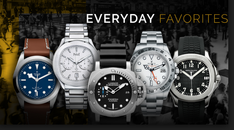The three fake watches you should have if you are a man